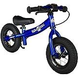 bike*star 25.4cm (10 Inch) Kids Child Learner Balance Running Bike - Sport - Colour Blue