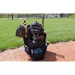 Baseball Softball Bag + Built in Cooler by Left Field
