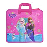 #8: Saamarth Impex Multi Purpose Disney Frozen Printed With Zip- Princess Theme SI-3233