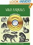 Wild Animals CD Rom and Book (Dover E...