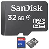 32 GB 32GB MICROSD HC MEMORY CARD CLASS-4 FOR NIKON COOLPIX P510 P520 P530 P600