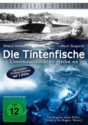 Die Tintenfische - Unterwasserdetektive greifen ein / Die komplette 13-teilige Krimiserie (Pidax Serien-Klassiker) [2 DVDs]