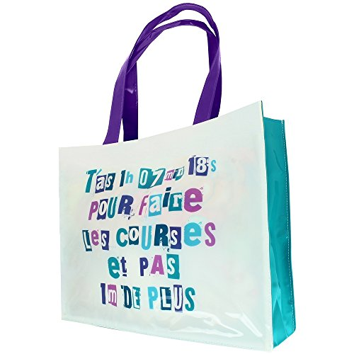 Sac--main-Femme-Imprim-Shopping-Mots-humour-Course-Chrono
