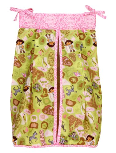 Trend Lab Nickelodeon Diaper Stacker, Dora the Explorer Exploring the Wild