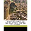 "Thomas May's Tragedy of Julia Agrippina, empresse of Rome, nebst einem Anhang, Die tragoedie ""Nero"" und Thomas May"