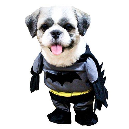 Funny Dog Coat Superhero Batman