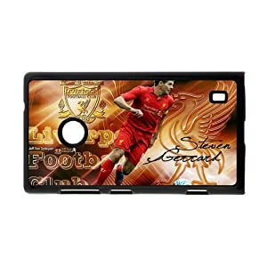 England Football Super Star&Steven.George.Gerrard Theme Case Cover for Nokia Lumia 520- Personalized Hard Cell Phone Back Protective Case Shell-Perfect as gift by Gerrard