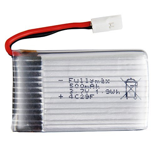 MKT 3.7V 500mAh battery for syma X5C RC Helicopter spare part by Mkt Fastening - 1