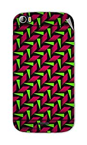 Miicreations Mobile Skin Sticker For Micromax canvas doodle-2-A-240,Pattern