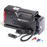 AFS's - Coido 3326- 12 V 12V 300PSI Electic Car Auto Tyre Inflator Air Compressor Built-in Emergency Light & Gauge...