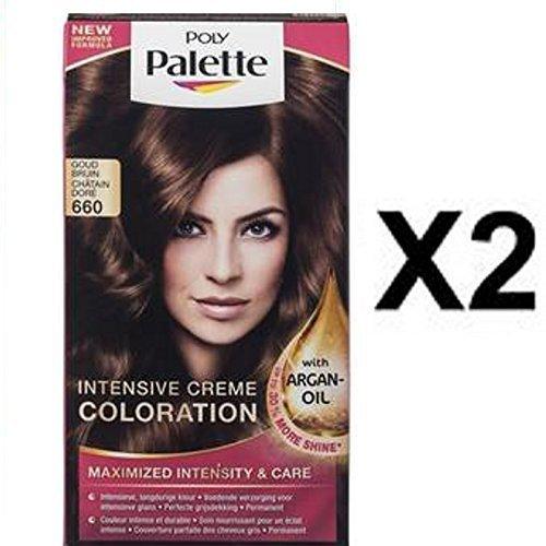 neu schwarzkopf palette haarfarbe farbstoff 660 karamel braun x 2 packungen jetzt mit argan oil. Black Bedroom Furniture Sets. Home Design Ideas