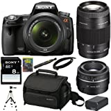 Sony Alpha SLT-A55V/L 16.2MP DSLR with
