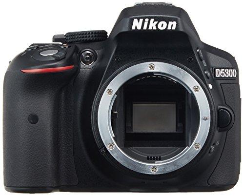 Nikon デジタル一眼レフカメラ D5300 ブラック 2400万画素 3.2型液晶 D5300BK