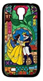 Cartoon Beauty and The Beast Custom PC Black Case for Samsung Galaxy S4 I9500 by Algudcase