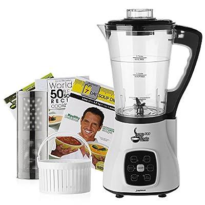 JumpStart Soup Mate Pro Hot & Cold Blender, Juicer, Steamer, Soup & Smoothie Maker