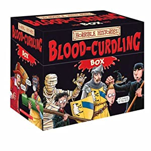 Horrible Histories: Blood-Curdling Box [Box set] [Paperback]
