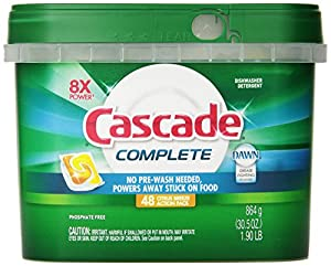 Cascade Complete All-In-One Actionpacs Dishwasher Detergent