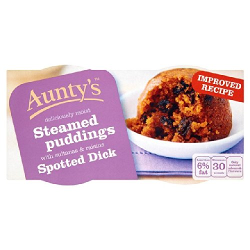 Aunty's Spotted Dick 2 x 110g
