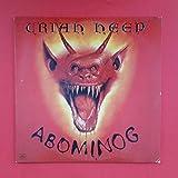 URIAH HEEP Abominog LP Vinyl VG++ 1982 Mercury SRM 1 4057 MSD HW