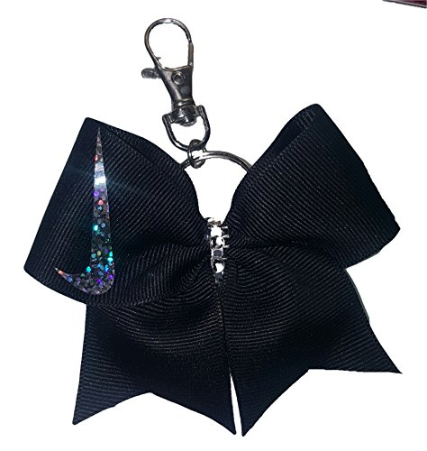 Cheer bows Key Chain, Backpack Bow Black Nike (Cheer Pack compare prices)