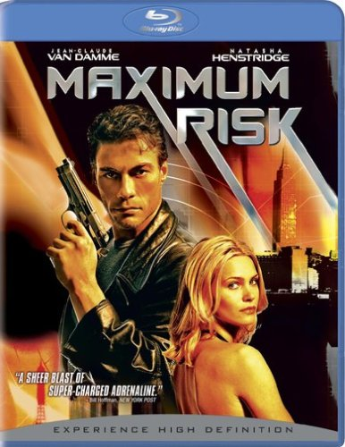 Cover art for  Maximum Risk (+ BD Live) [Blu-ray]