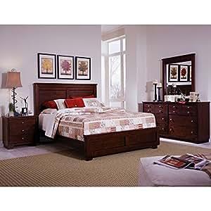 diego bedroom set espresso pine king bedroom
