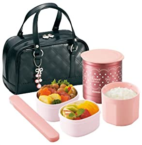zojirushi thermal lunch box bento bako sz ga02 ba black japan import ama. Black Bedroom Furniture Sets. Home Design Ideas