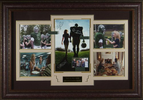 The Blind Side Cast Autographed Movie Display