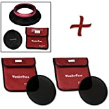 Fotodiox WonderPana XL Essential ND Kit - Core Filter Holder, Lens Cap, 186mm ND16 & ND32 Filters For Sigma 12...