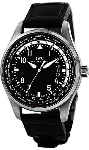 IWC Pilot Worldtimer Black Dial Automatic Mens Watch IW326201