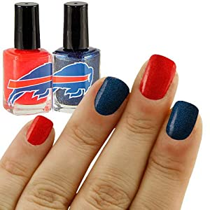NFL Buffalo Bills Two-Pack Team Colored Nail Polish