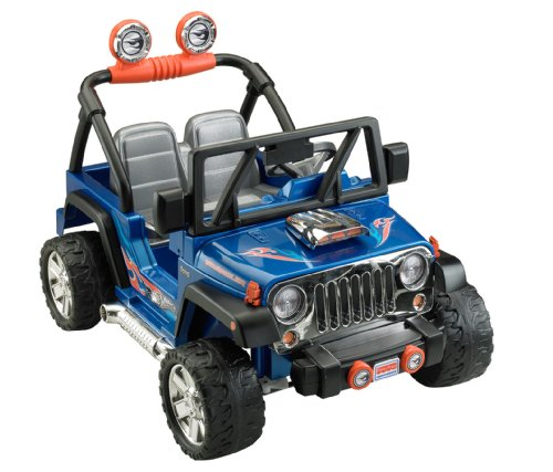 Fisher-Price Power Wheels Hot Wheels Jeep Wrangler Ride On
