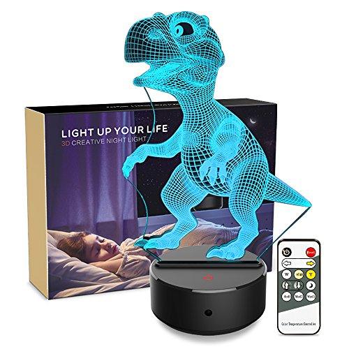 3D Night Light Dinosaur Lamp