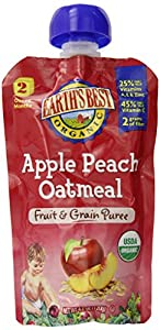 Earths Best Organic First Food Fruit Starter Kit, 2.5 Ounce(Pack of 12)