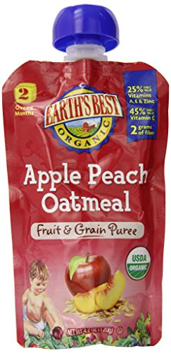 Earths Best Organic First Food Fruit Starter Kit, 2.5 Ounce(Pack of 12)