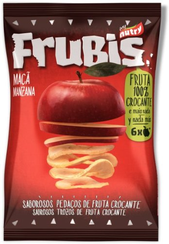 Frubis Dried And Crunchy Fruit Chips (Apple)