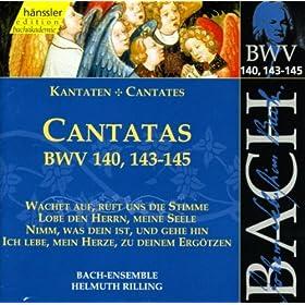 Wachet auf, ruft uns die Stimme, BWV 140: Aria Duet: Mein Freund ist mein (Soprano, Bass)