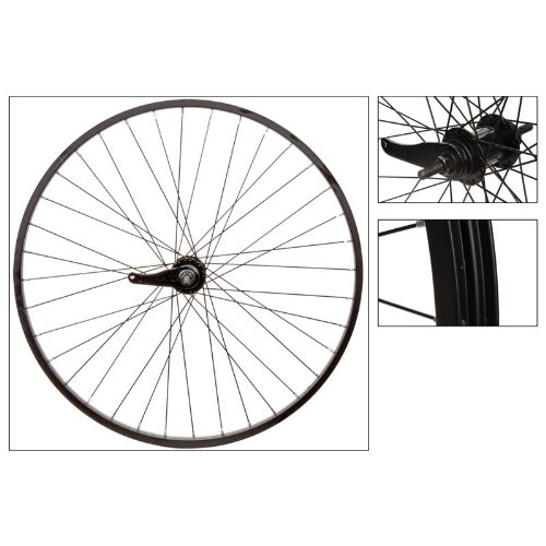 Wheel Master Rear 26 x 1.75/2.125, WEI-AS7X, Black, 36H, 14g Blk Spokes
