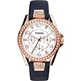 Fossil Riley Multifunction Leather Watch