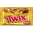 Twix chocolate, Caramel Cookie Bars Minis Candy, 11.50-Ounce Packages (Pack of 4)