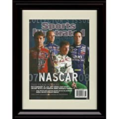 Framed NASCAR Preview Sports Illustrated Autograph Print - 2007 by Framed Sport Prints
