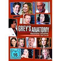 Grey's Anatomy: Die jungen �rzte - Sechste Staffel, Teil Zwei [3 DVDs]