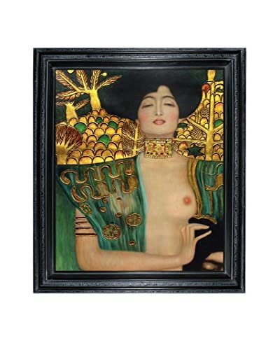 "Gustav Klimt ""Judith Klimt I"" Framed Oil Reproduction"