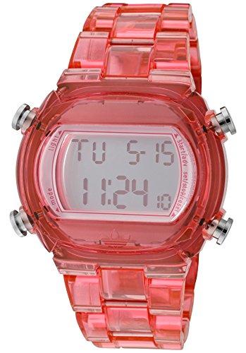 Adidas Nylon Candy Digital Grey Dial Unisex Watch #Adh6504