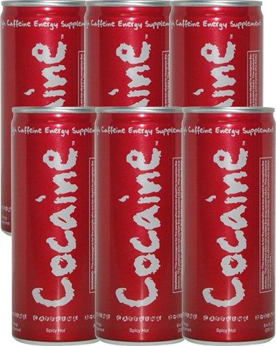 Cocaine Energy Drink – 8.4oz 6 Pack