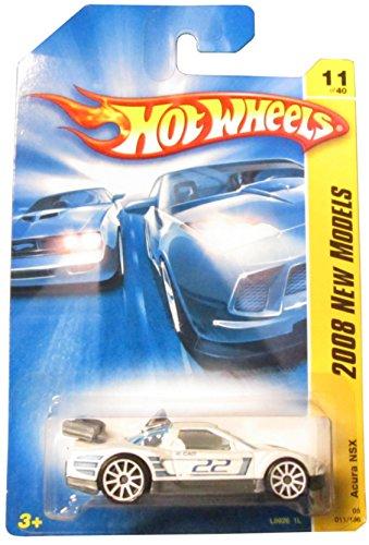 Hot Wheels 2008 011 New Models Acura NSX White 2008-011 11