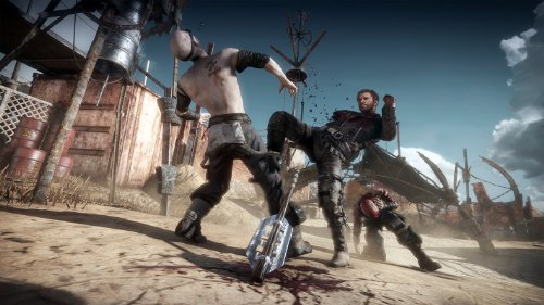 mad max ps4 gameplay 1080p camcorder