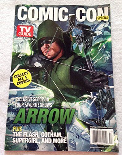 SET of 4 SDCC 2015 Comic Con TV GUIDES Gotham, Arrow, The Flash and Supergirl