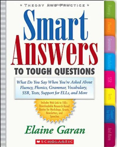 Smart Answers to Tough Questions: What to Say When You're...