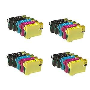 cartouche d 39 encre compatible pour epson workforce wf 2010w wf 2510wf wf 2520nf wf 2530wf wf. Black Bedroom Furniture Sets. Home Design Ideas